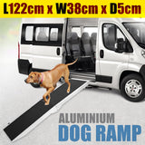Foldable Aluminium Dog Ramp - 122 x 38 cm