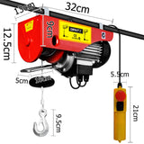 125/250kg 510 W Electric Hoist Winch
