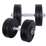 25kg Fitness Gym Exercise Dumbbell Set