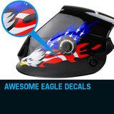 ROSSI Eagle Design Welding Helmet