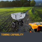 57kg Push Tow Broadcast Spreader