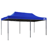 3m x 6m Pop-up Garden Outdoor Gazebo Blue