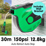 Retractable Garden Water Hose Reel 30M