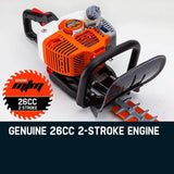 26cc Dual Blade Laminated Hedge Trimmer -HTX620