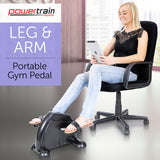 Mini arm and leg exercise bike