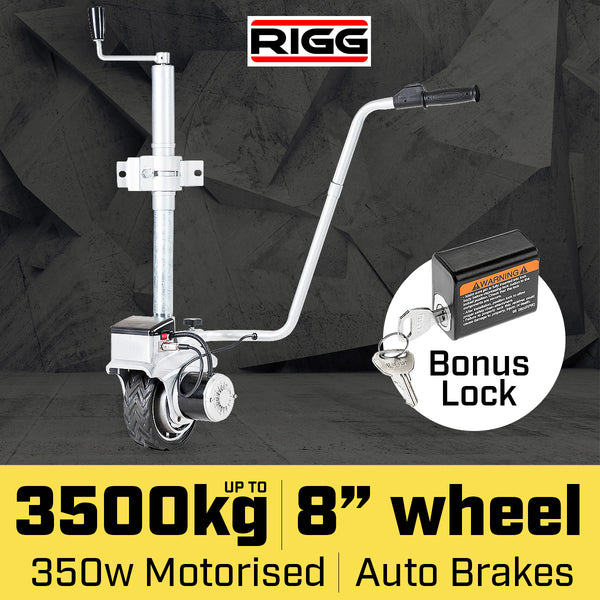Rigg 12V Motorized Jockey Wheel Mover