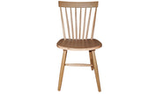 Simple Living Ari Solid Oak Set of 2 Dining Chairs