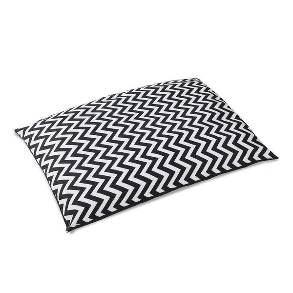 Washable Wavy Stripe Heavy Duty Pet Bed - XLarge