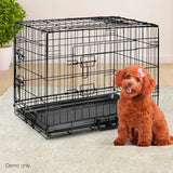 Foldable-Pet-Crate-24Inch-PET-DOGCAGE-24