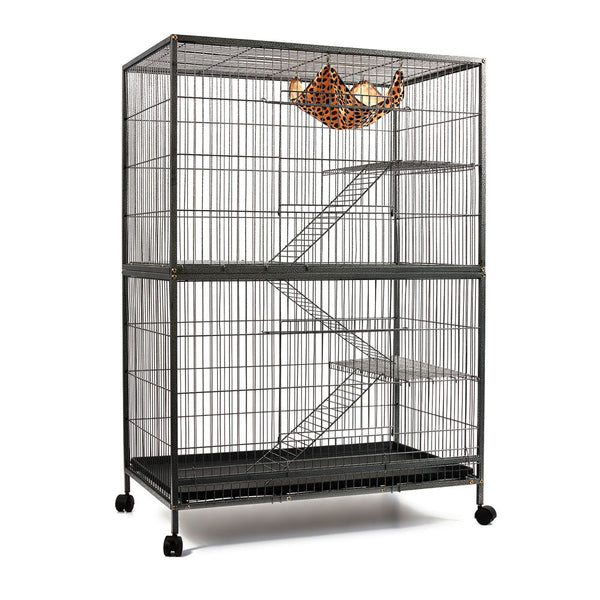 3 Level Cat Ferret Hamster Rat Bird Cage Aviary