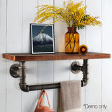 Rustic-Industrial-DIY-Floating-Pipe-Shelf-PIPE-61-1LVL-RACK
