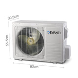 2.7KW Multifunctional Air Conditioner Heater Fan White