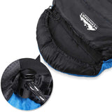 Camping Envelope Sleeping Bag Single Blue Black