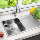Stainless-Steel-Kitchen/Laundry-Sink-w/-Strainer-Waste-870x450mm-SINK-8745-R010