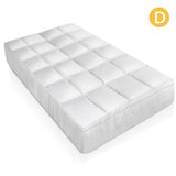 Duck Feather & Down Pillowtop Matress Topper - Double
