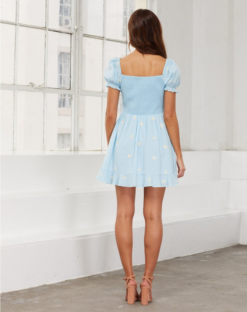 Belinda Dress - Baby Blue