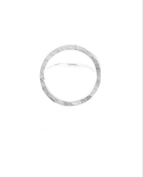 Open Circle Ring - Silver
