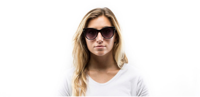 Felicity Sunglasses- Quartz Rose Flash