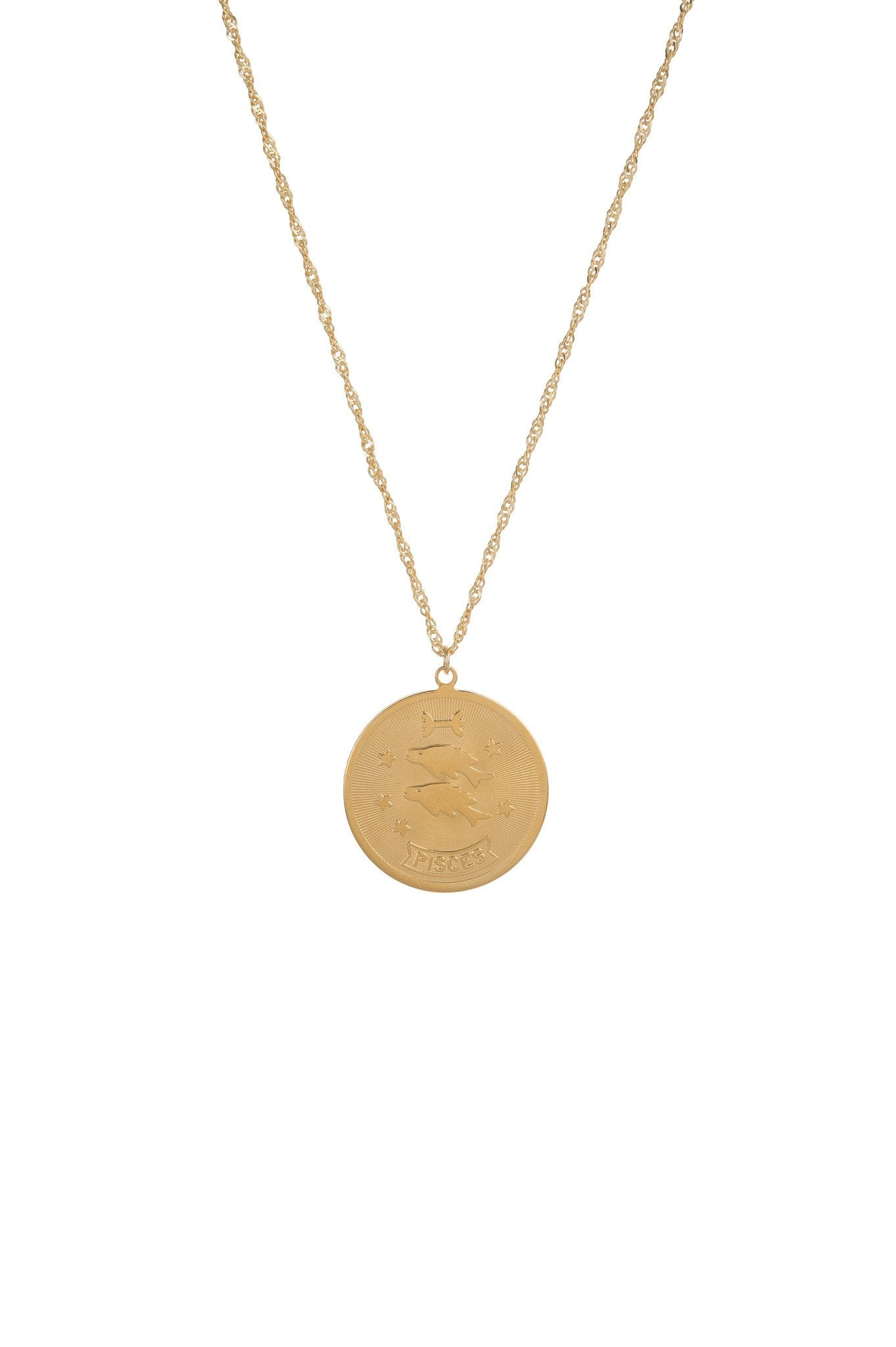 Planets And Predictions Necklace (Pisces)