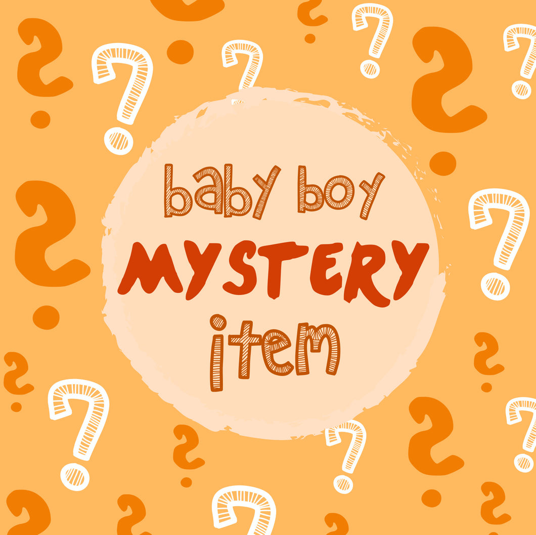 SAMPLE SALE:  1x MYSTERY BABY BOY PAJAMA PRODUCT - Sleep N Play | Infant to 24 Months - Moodie