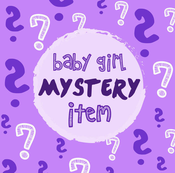 SAMPLE SALE:  1x MYSTERY BABY GIRL PAJAMA PRODUCT - Sleep N Play | Infant to 24 Months - Moodie