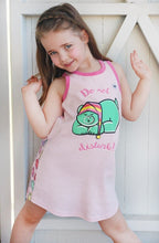 Beware the Bear Pajama Dress for Girls - Cotton Night Gown | Toddler-10 Yrs - Moodie