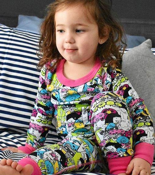 Fairy Amusing Pajama Set for Girls - Winter Pajama Top and Pants Set | Toddler-10 Yrs - Moodie