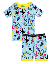 Flutter Fly Pajama Set for Girls - Cotton Pajama Top and Shorts Set | Toddler-10 Yrs - Moodie