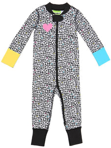 Keep Dreaming 2 Way Zipper Onesies for Baby Girls - Sleep N Play Footless Pajamas | Infant to 24 Months - Moodie