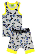 One Direction Pajama Set for Boys - Cotton Pajama Top and Drop Crotch Shorts Set for Boys | Toddler-10 Yrs - Moodie