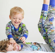 Rollin' With My Trollies Pajama Set for Boys - Winter Pajama Top and Pants Set | Toddler-10 Yrs - Moodie