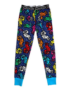 Spaceman Pajama Pant for Women | Cotton Pajamas  - Winter Sleepwear / Loungewear - Moodie