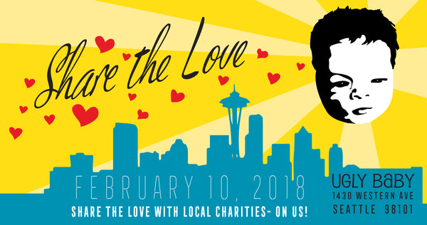 Share the Love Event at Ugly Baby - 2018