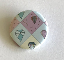 "Load image into Gallery viewer, 1.25"" Button - Literal Gem (Three Pack)"
