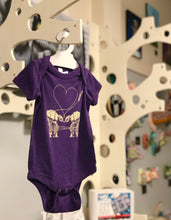 Load image into Gallery viewer, Onesie: Love AT-AT First Sight - Purple