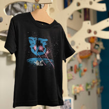 Load image into Gallery viewer, Toddler Shirt - Meta Laser Cat - Unisex Crew