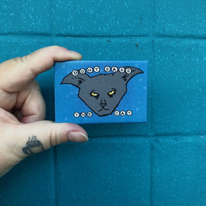 Magnet: 3x2 Inch - Don't Sass the Cat
