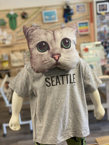 Toddler Shirt - This Says Seattle On It - Unisex Crew