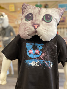 Toddler Shirt - Meta Laser Cat - Unisex Crew