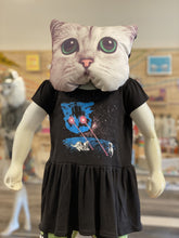 Load image into Gallery viewer, Toddler Dress - Meta Laser Cat