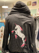Load image into Gallery viewer, Pike Place Market Donation: Hoodie - Roller Skating Unicorn