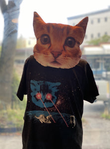 Youth Shirt: Meta Laser Cat