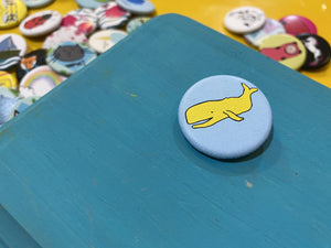 "1.25"" Button - Whales (Three Pack)"