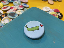 "Load image into Gallery viewer, 1.25"" Button - Whales (Three Pack)"