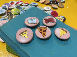"1.25"" Button - Pizza Party (Three-Pack)"