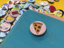 "Load image into Gallery viewer, 1.25"" Button - Pizza Party (Three-Pack)"