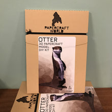 Load image into Gallery viewer, Paper Craft - Otter