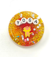 Yoga - Mini Shower Art - READY TO SHIP