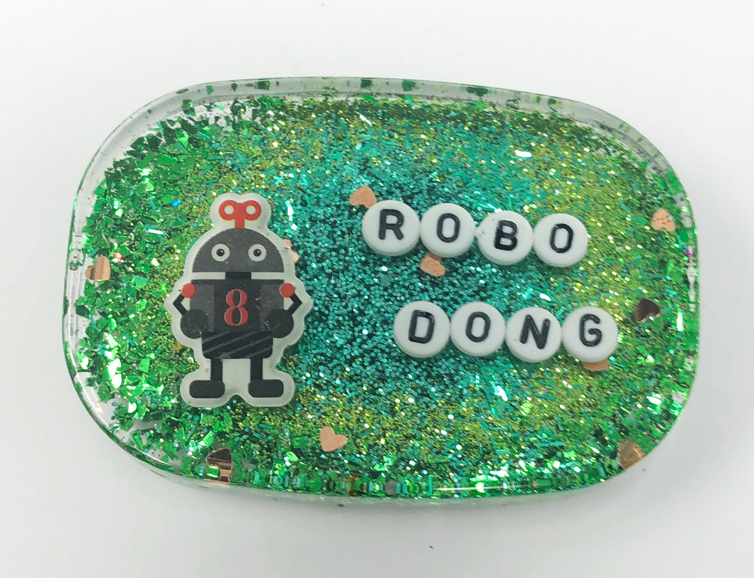 Robo Dong - Shower Art - READY TO SHIP