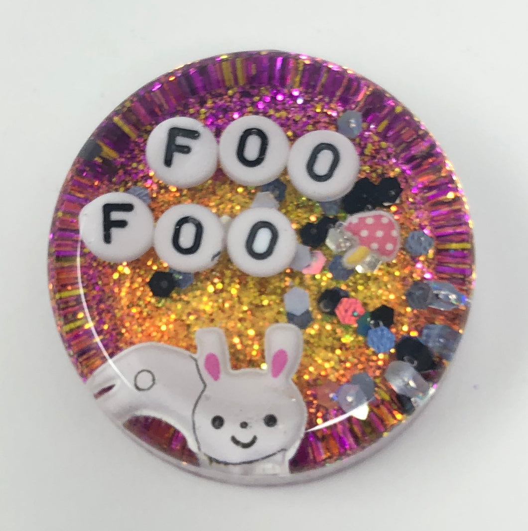 Foo Foo - Shower Art - READY TO SHIP